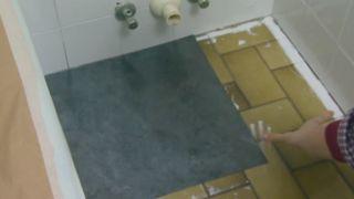 Actualizar un baño viejo sin hacer obras - Paso 3