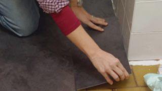 Actualizar un baño viejo sin hacer obras - Paso 4