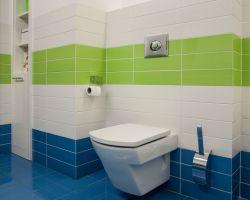 Baos En Azul Y Blanco Fancy White Blue Bathroom Amazing Swedish - Baos-con-color