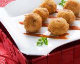 Croquetas de arroz con chorizo
