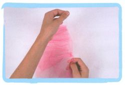 coser falda d evolantes de tul - paso 1