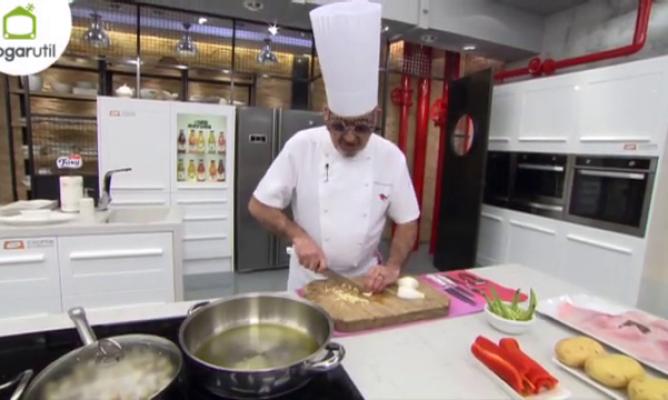 Karlos argui ano cuenta dos chistes mientras cocina for Cocina carlos arguinano