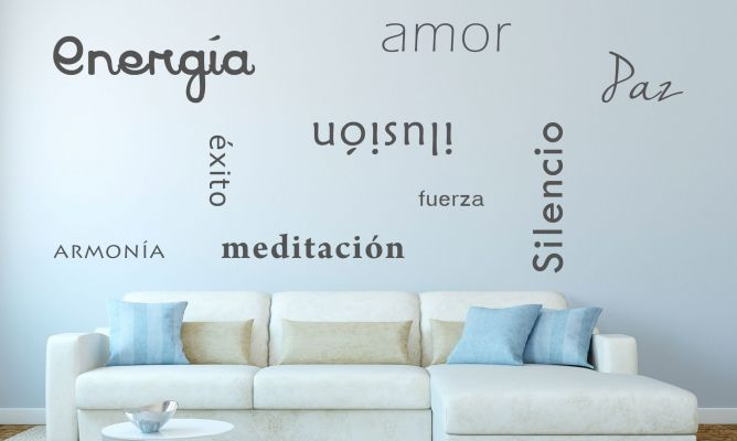Formas de decorar las paredes con frases hogarmania for Formas para decorar una casa