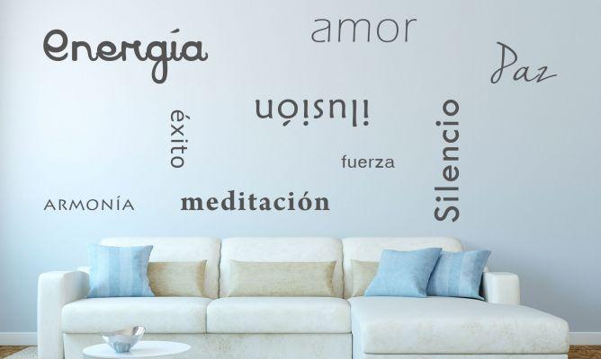 Paredes decoradas con frases hogarmania - Decoracion de paredes con fotos ...