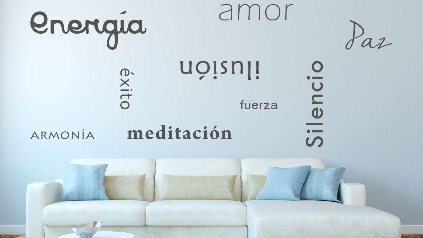 Formas de decorar las paredes con frases hogarmania for Decoracion de la pared para el dormitorio