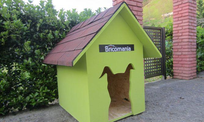 C mo hacer una caseta de perro bricoman a - Hacer caseta de madera ...