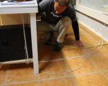 Ocultar cables del suelo