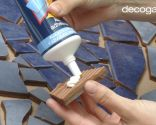 Cómo hacer un mosaico de azulejos