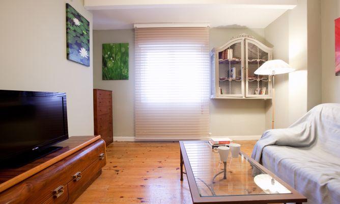 Salita sencilla y natural decogarden - Como decorar una salita ...