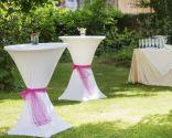 Mesas cóctel boda