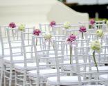 flores decoración boda