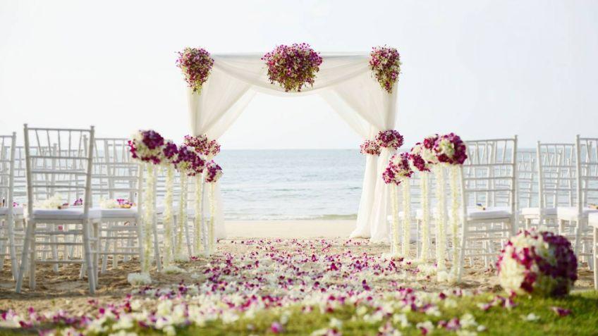 decoracin para una boda al aire libre