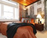 Dormitorio de estilo industrial