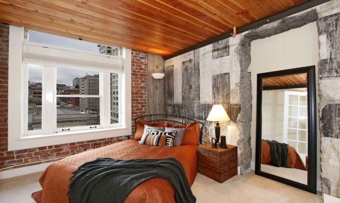 Dormitorio de estilo industrial hogarmania - Estilos de dormitorios ...