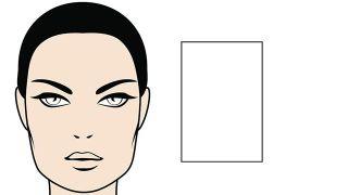 ¿Sabes cuál es tu forma de rostro? - Rectangular