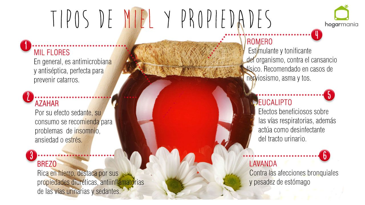 propiedades miel