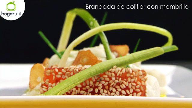 Brandada de coliflor con membrillo