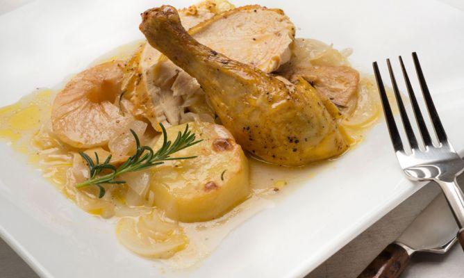 Receta de Pollo asado - Karlos Arguiñano