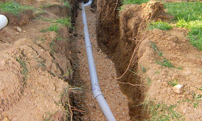 Instalar un drenaje en el jard n bricoman a for Como desatascar un desague