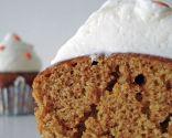 Cupcakes de calabaza y tutorial de calabaza fondant