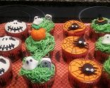 Cupcakes de cheesecake tenebrosos