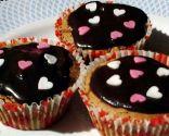 Cupcakes de chocolate con almendra