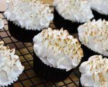 Cupcakes de merengue al limón