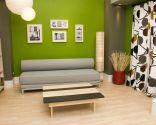 Mesa de salón de estilo nórdico