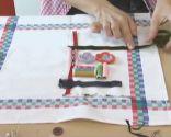 Hacer cuadros con elementos de costura