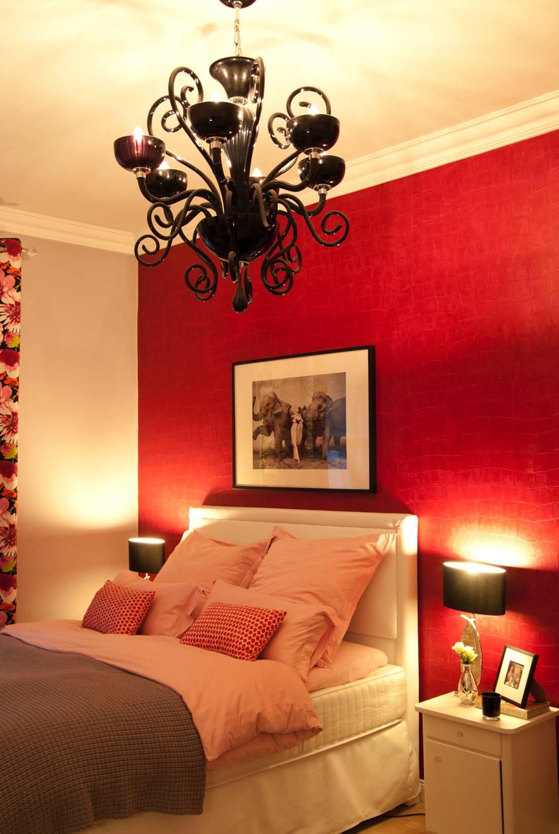 decoración de dormitorio sexy - iluminación
