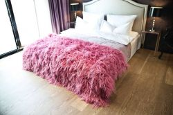 decoración dormitorio sexy - textiles