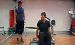 ejercicio step - trasero