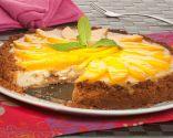 Tarta de mango y requesón