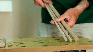 Reforzar sujeción de manilla