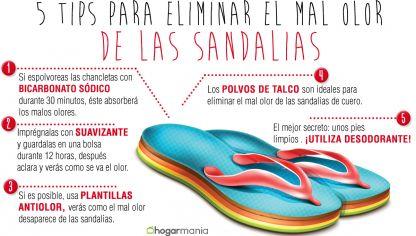 De Las Hogarmania Olor El Eliminar Mal Sandalias 53LRAjq4