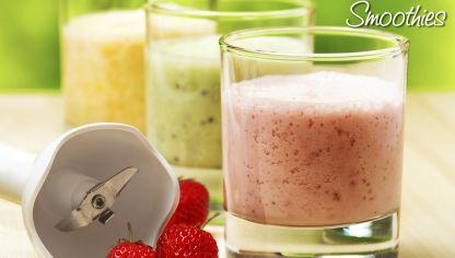 como hacer batidos de frutas con yogurt