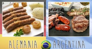 Final gastron�mica: Alemania vs Argentina