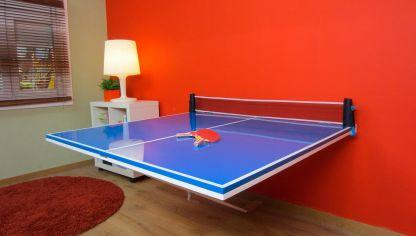 Mesa con traviesas bricoman a for Mesa de ping pong exterior