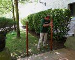 Cerrar zona de jardín