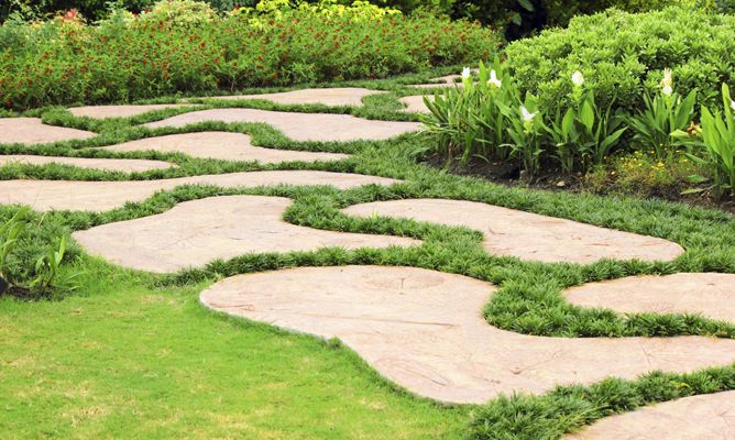 Efecto xido para decorar jardines decogarden - Como decorar un muro de hormigon ...