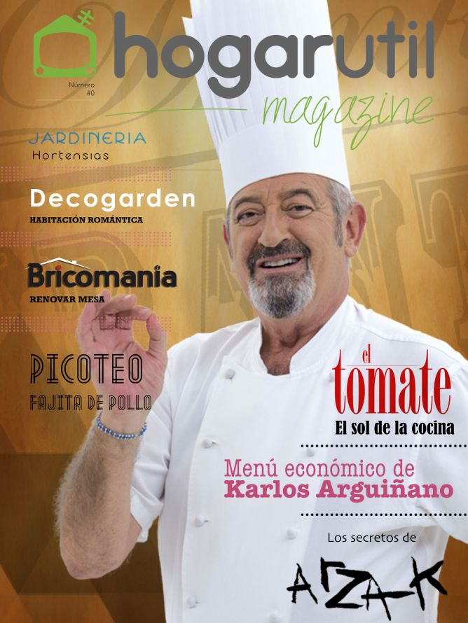 Nº 0 Revista Hogarutil Magazine