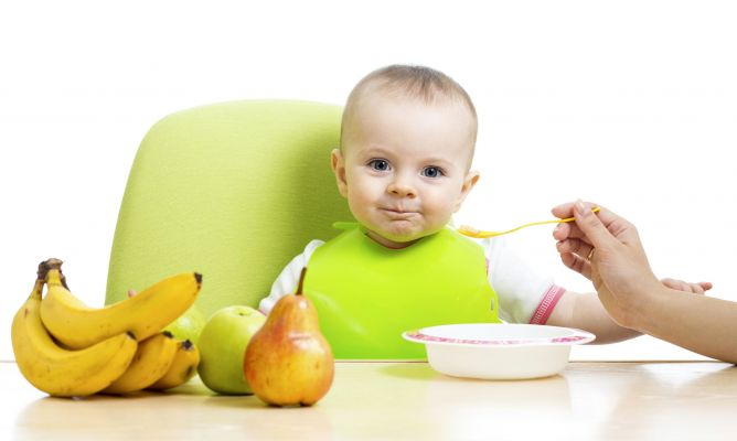 Frutas en la alimentación del bebé