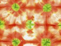 Técnica shibori para decorar tejidos