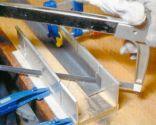 Mesa de forja y baldosa