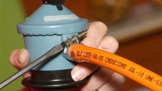 Mantenimiento del kit regulador del gas butano