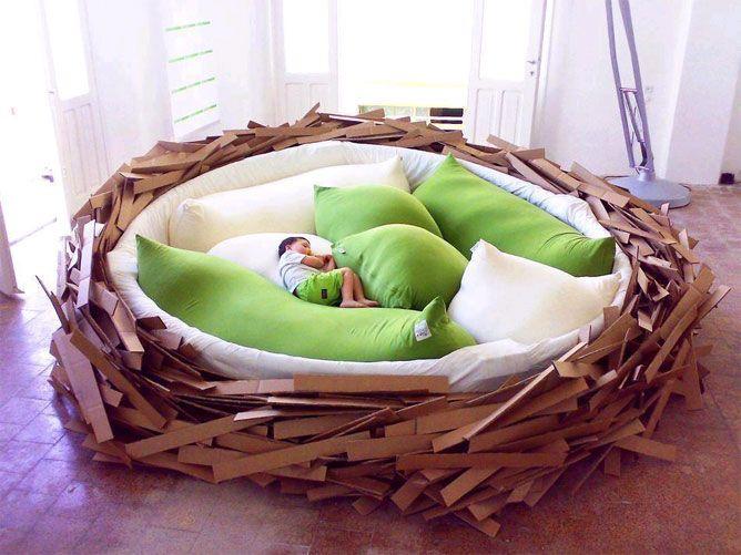 diseos originales de camas