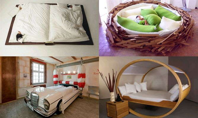 10 dise os originales de camas hogarmania - Camas para ninos originales ...