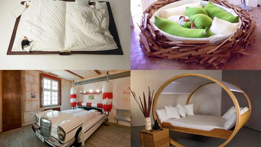 10 diseos originales de camas Hogarmania