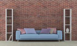 Cómo combinar un sofá azul