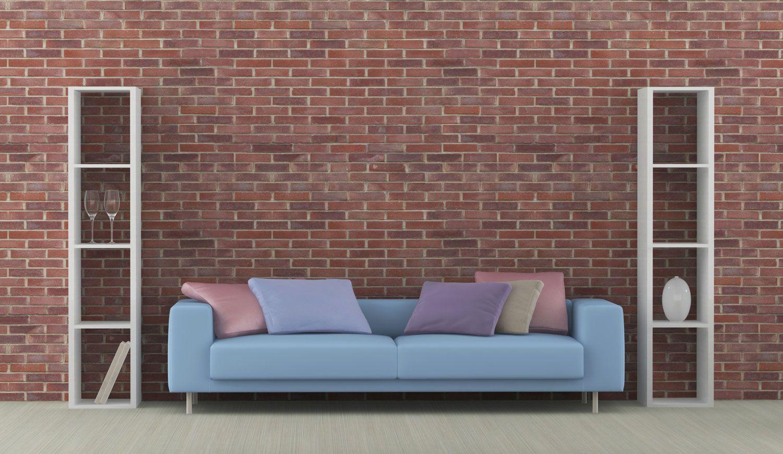 C mo combinar un sof azul hogarmania for Sofa gris como pintar las paredes